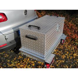 Heck-Pack Kuljetusboxi - Alu - 10 eri kokoa